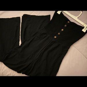 EXPRESS Black Tube Jumpsuit